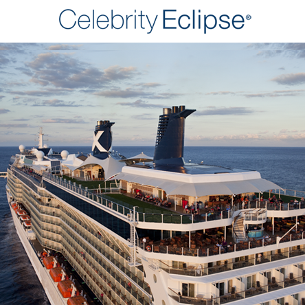 Celebrity Eclipse – Our New Home